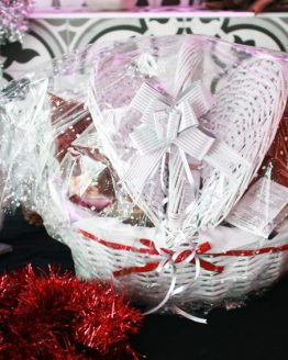 Cesta navideña de tapeados ibéricos